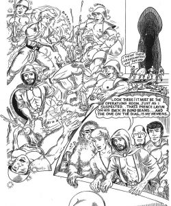 Come Wars 010 and Gay furries comics