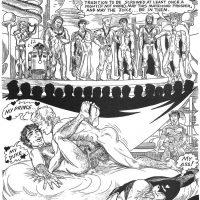 Come Wars gay furry comic