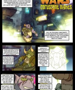 Coruscant Nights 001 and Gay furries comics