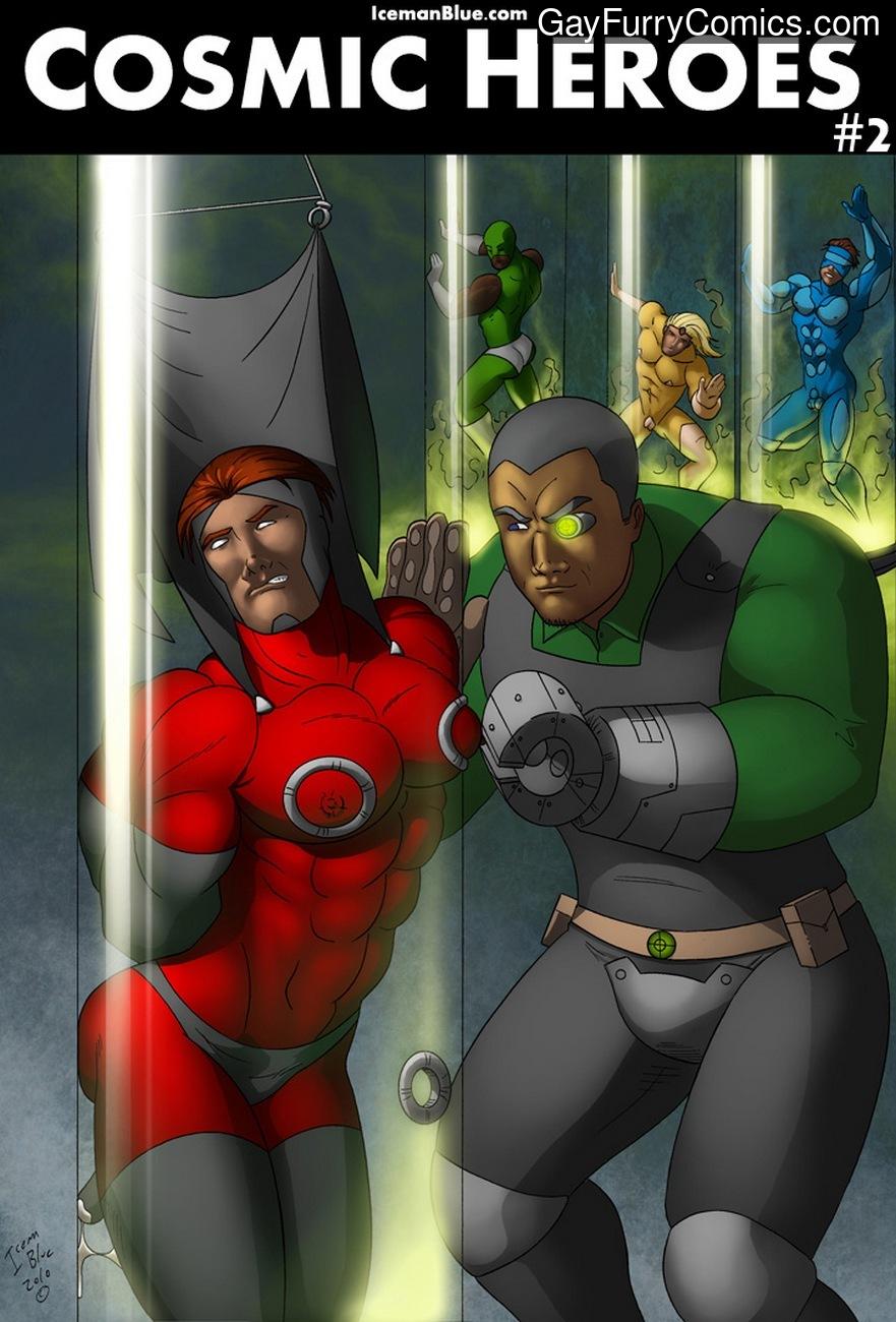 Cosmic Heroes 2 gay furries