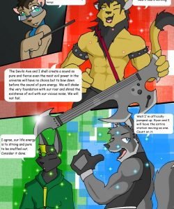 Countdown 003 and Gay furries comics