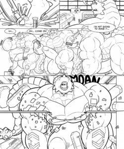 Curiosity Made The Kobold Grow 005 and Gay furries comics