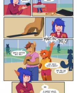 D Minus 004 and Gay furries comics