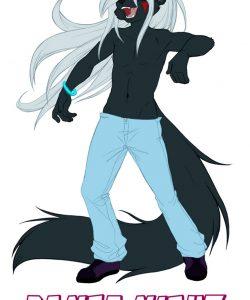 Dance Night gay furry comic