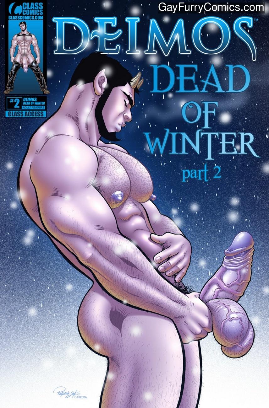 Deimos – Dead Of Winter 2 gay furry comic
