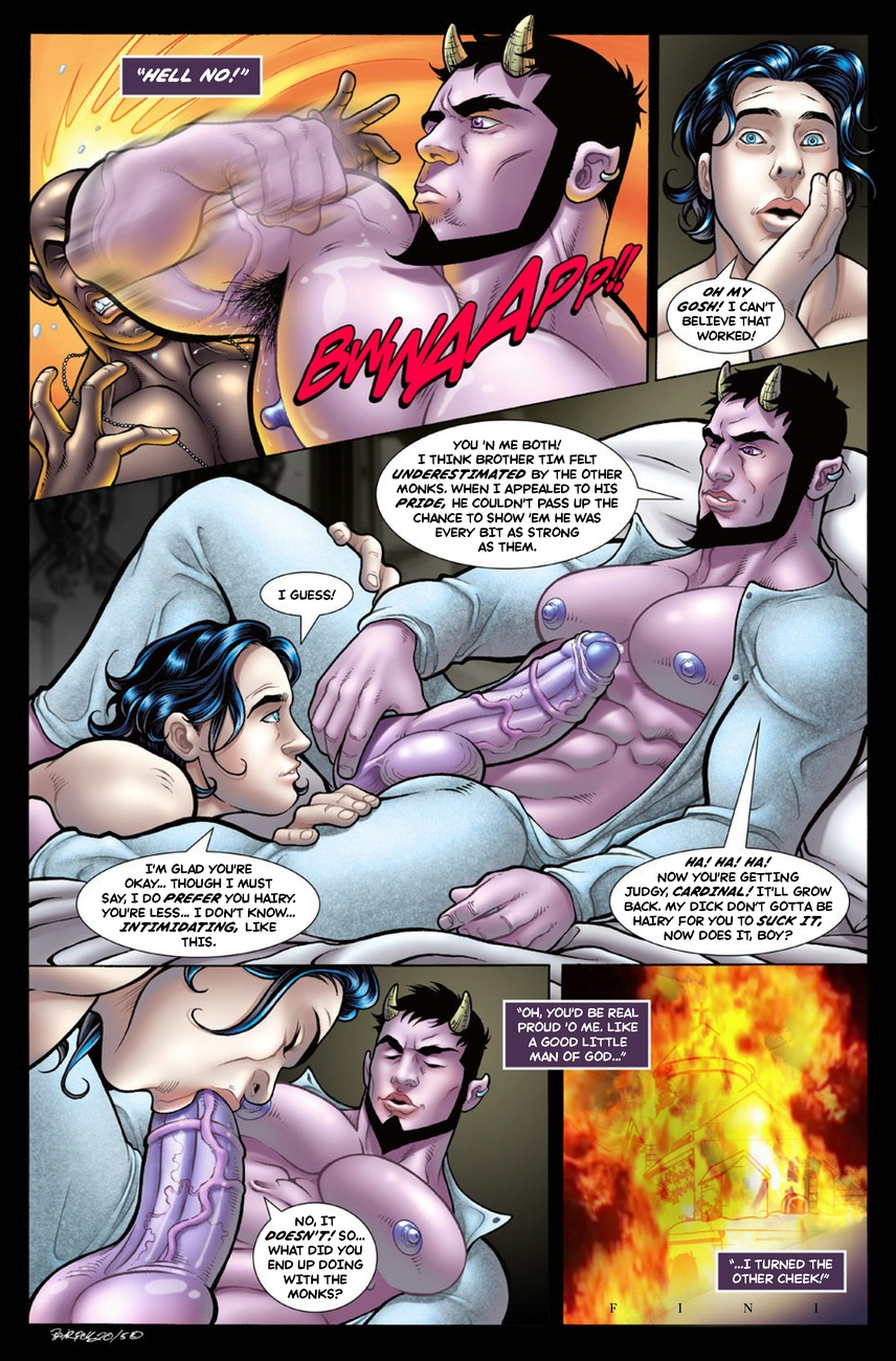 Deimos – Dead Of Winter 2 gay furry comic
