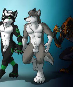 Demon's Pet 001 and Gay furries comics