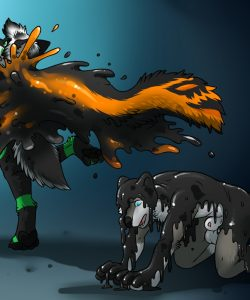 Demon's Pet 003 and Gay furries comics