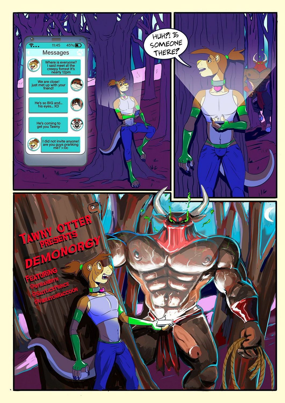 Demonorgy gay furry comic