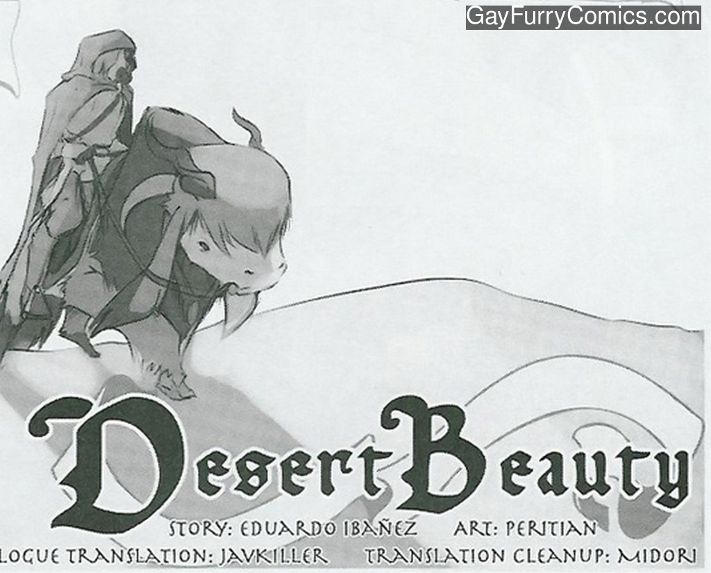 Desert Beauty gay furry comic