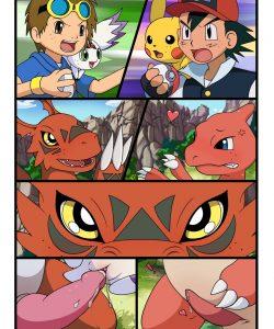 Digimon vs Pokemon 002 and Gay furries comics