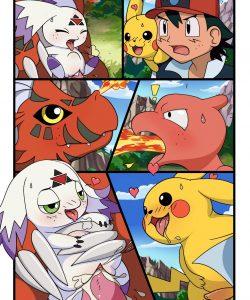 Digimon vs Pokemon 003 and Gay furries comics