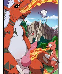 Digimon vs Pokemon 004 and Gay furries comics