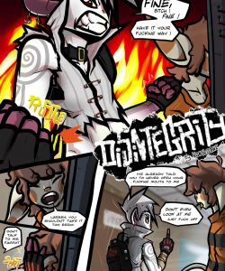 Disintegrity 003 and Gay furries comics