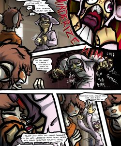 Disintegrity 006 and Gay furries comics