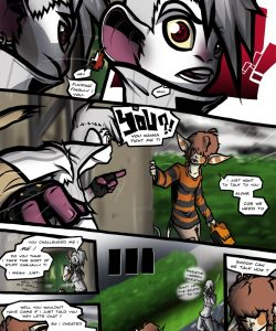 Disintegrity 008 and Gay furries comics