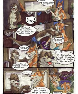 Dogs Days Of Summer 1 009 and Gay furries comics