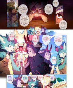 DokiDoki Moffles - A Fruitful Quest 003 and Gay furries comics