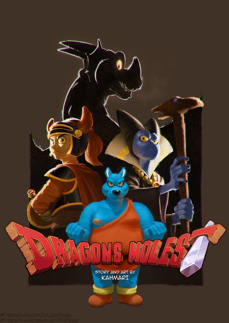 Dragon Molest gay furry comic