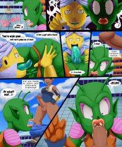 Dragonball Xxxenoverse 002 and Gay furries comics