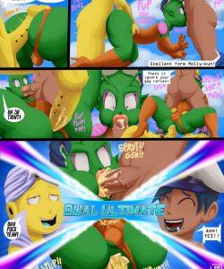 Dragonball Xxxenoverse 003 and Gay furries comics