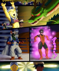 Dragonball Xxxenoverse 004 and Gay furries comics