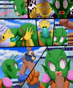 Dragonball Xxxenoverse 005 and Gay furries comics
