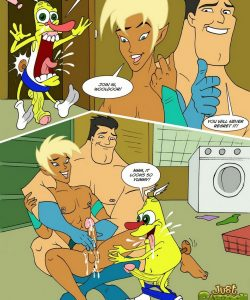 Drawn Together 008 and Gay furries comics