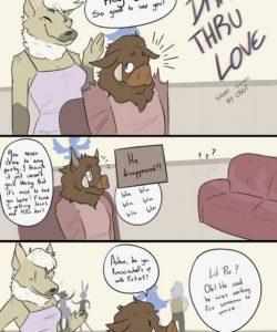 Drive Thru Love 003 and Gay furries comics