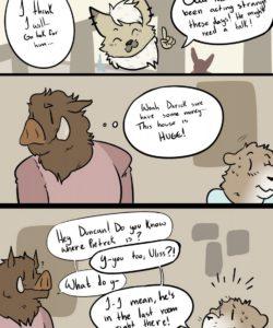 Drive Thru Love 004 and Gay furries comics