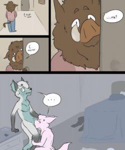 Drive Thru Love 005 and Gay furries comics