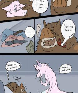 Drive Thru Love 021 and Gay furries comics
