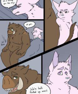 Drive Thru Love 030 and Gay furries comics