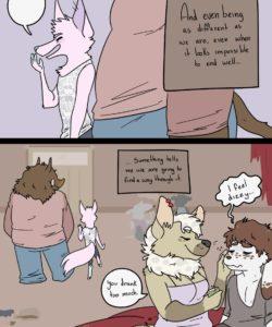 Drive Thru Love 033 and Gay furries comics
