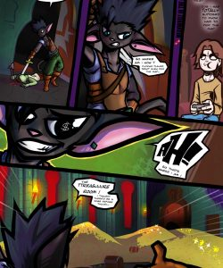 Dungeon Fantasy XXXVIII 003 and Gay furries comics