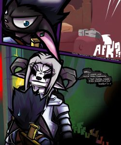 Dungeon Fantasy XXXVIII 006 and Gay furries comics