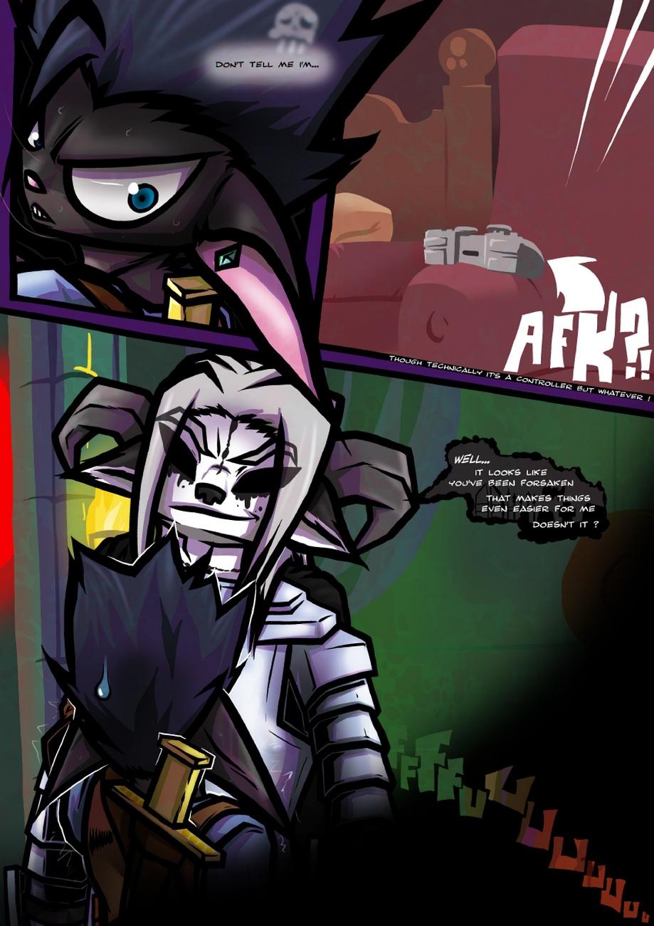 Dungeon Fantasy XXXVIII gay furry comic
