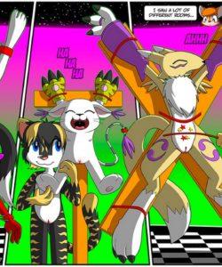 Edna's Revenge 009 and Gay furries comics