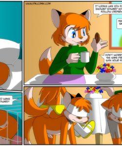 Edna's Revenge 017 and Gay furries comics