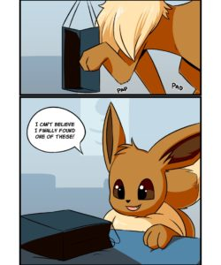 Eevee's Tentacle Box 001 and Gay furries comics