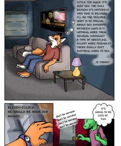 Eighteen 008 and Gay furries comics