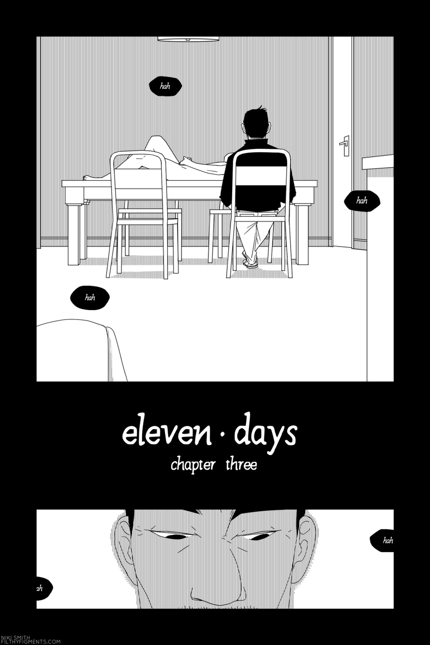 Eleven Days 3 gay furry comic