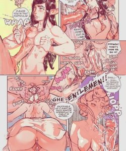 Elven Subtlety 006 and Gay furries comics