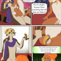 Emperor's Treasure gay furry comic