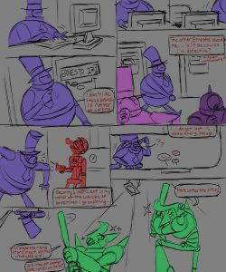 Error Terror 002 and Gay furries comics