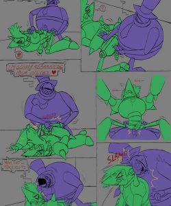 Error Terror 011 and Gay furries comics