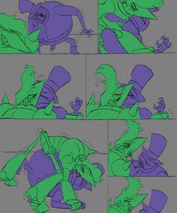 Error Terror 012 and Gay furries comics