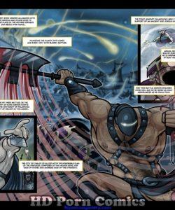 Exodus 1 - Euribatos The Tenebrous 003 and Gay furries comics