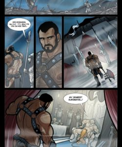 Exodus 1 - Euribatos The Tenebrous 004 and Gay furries comics