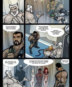 Exodus 1 - Euribatos The Tenebrous 005 and Gay furries comics
